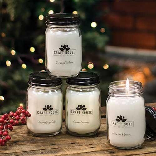12/Set, Holiday Collection Pint Candles