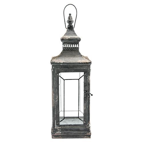 Antique Victorian Glass Lantern