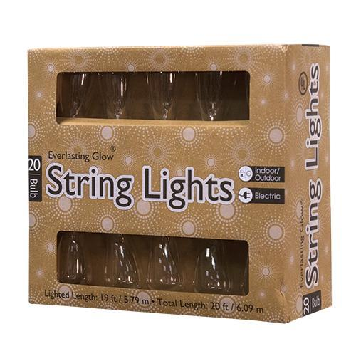 Edison Patio Light Set, 20 ct.