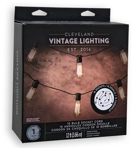 *10 Socket Light String