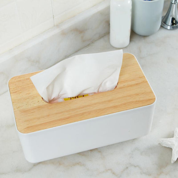 Wooden Tissue Box  - Multiple Sizes & Types