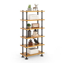 Multi-Layer Industrial / Rustic / Retro  / Urban Iron Pipe Floor Storage Display Stand