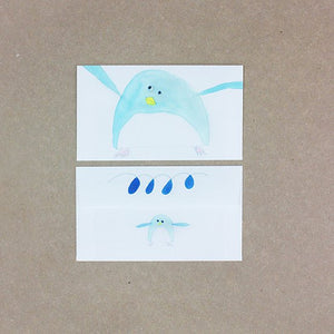 Briefpapier Pinguin