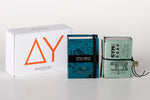 "2 organic soap gift box ""Prickly pear + Gym's for him"""