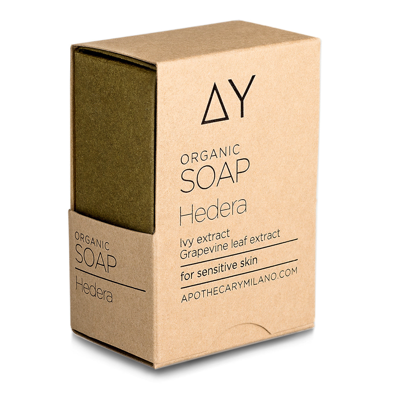 Red Grapevine and Ivy Organic Soap