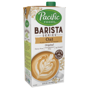 PACIFIC Barista Series OAT Plant-Based Beverage 32 FL. OZ.