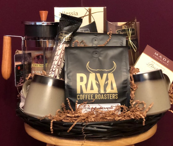 Coffee Lovers Delux Gift Basket