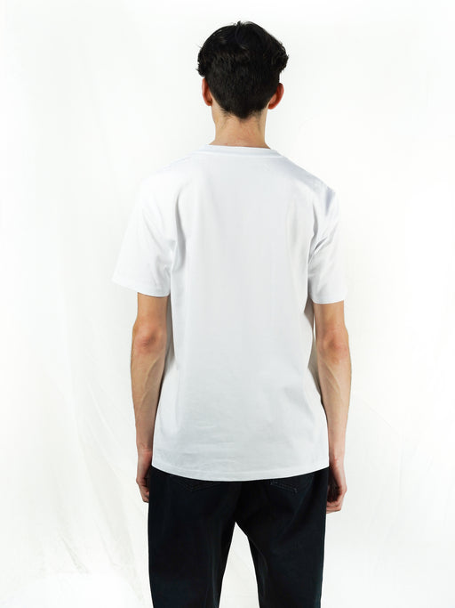 Army burn white T-SHIRT