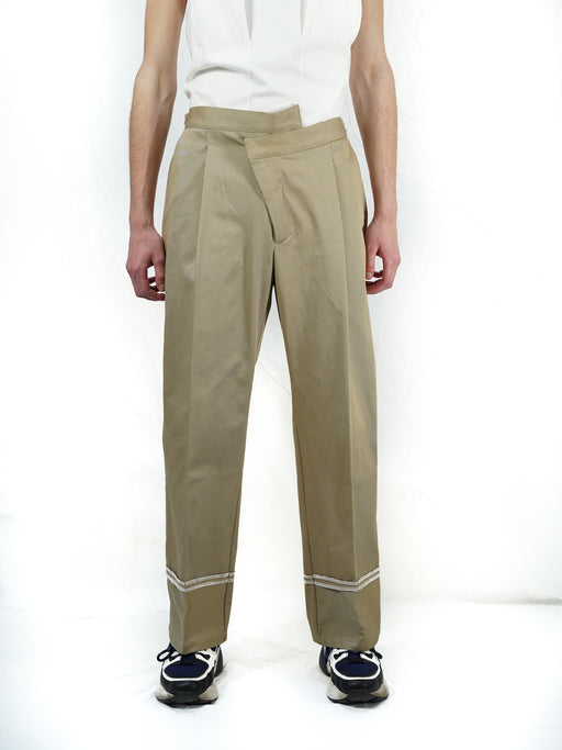 DESTRUCTURED TROUSERS