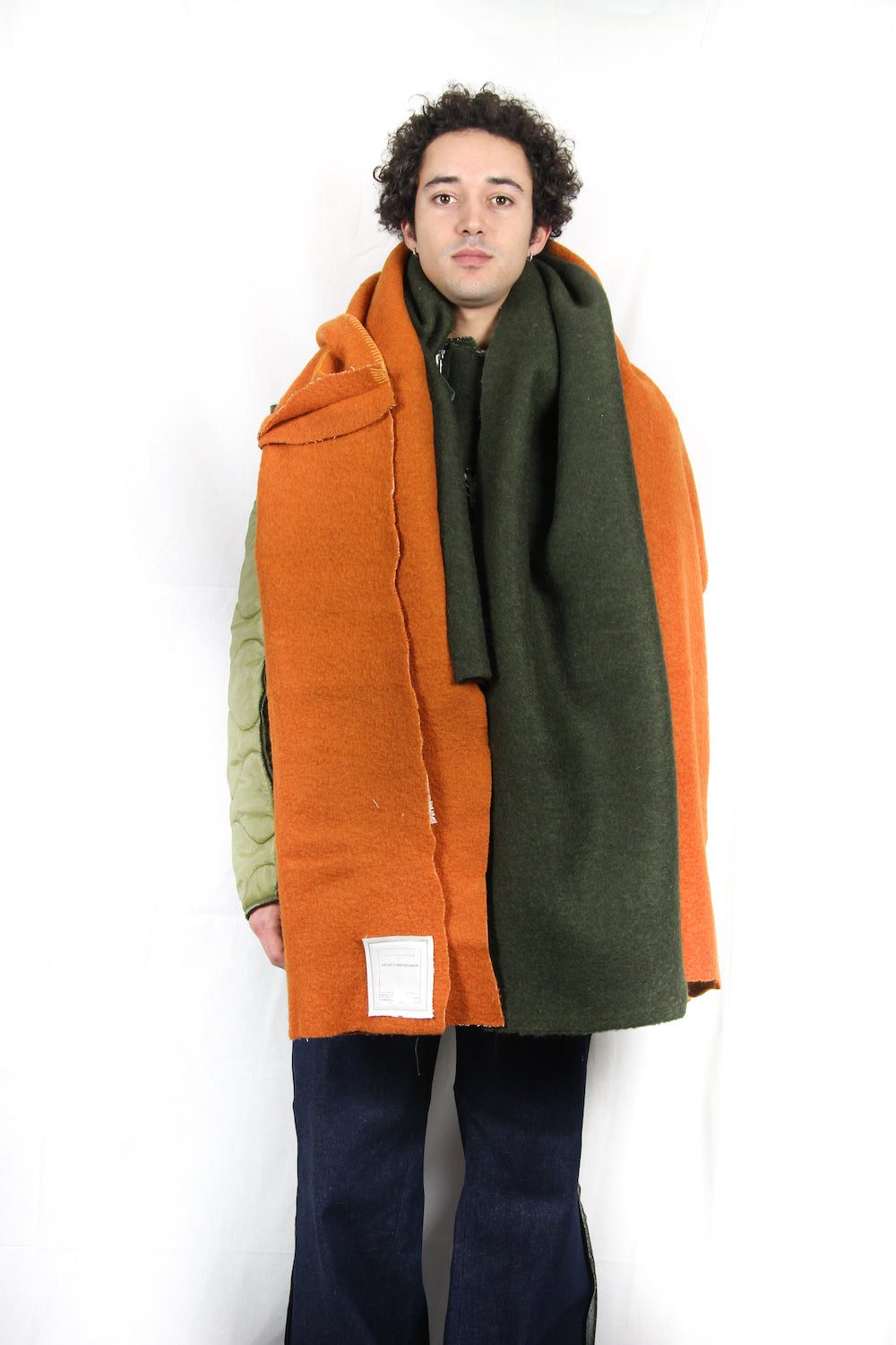 ARMY OVERSIZE BLANKET SCARF