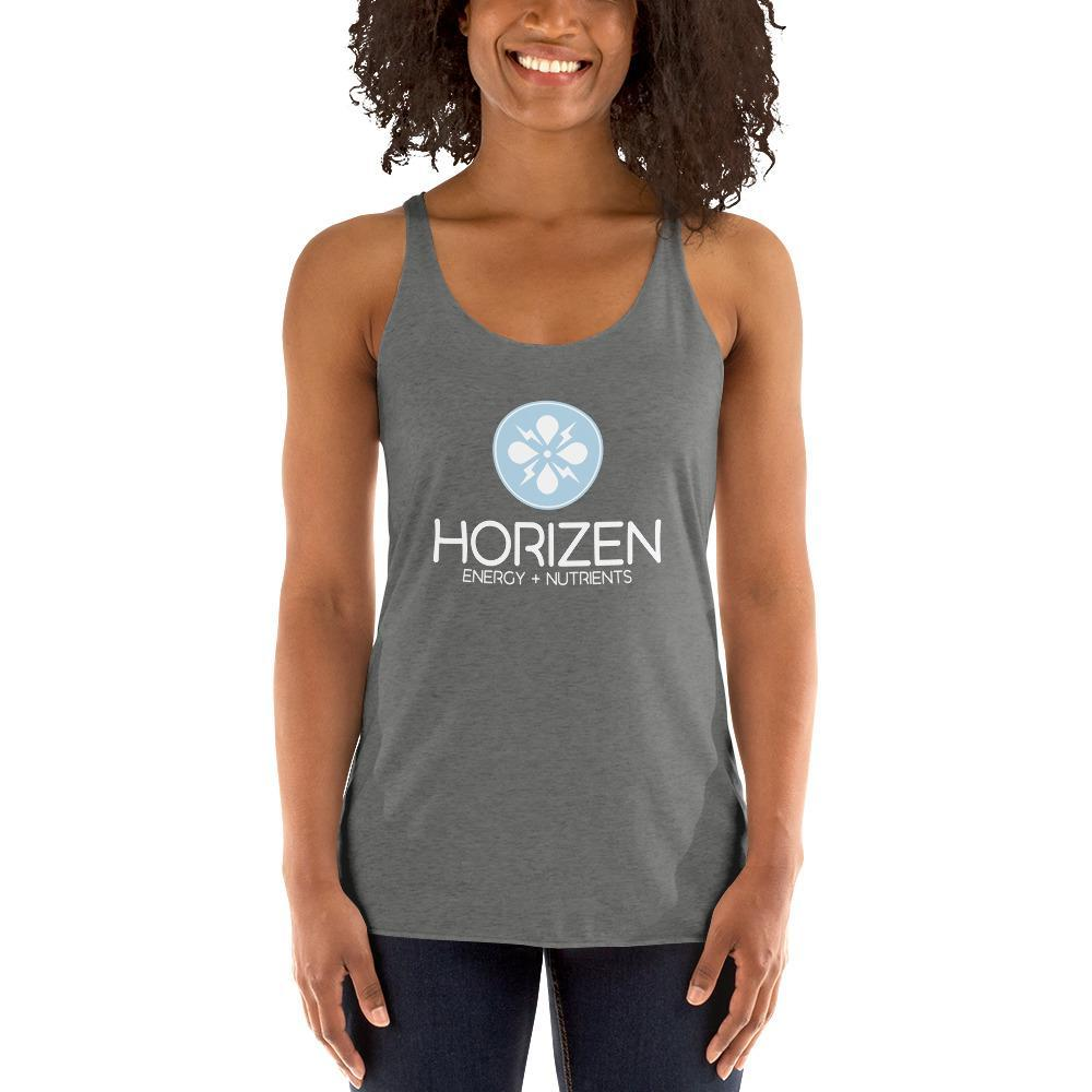 Women's Racerback Tank - Horizen Energy + Nutrients