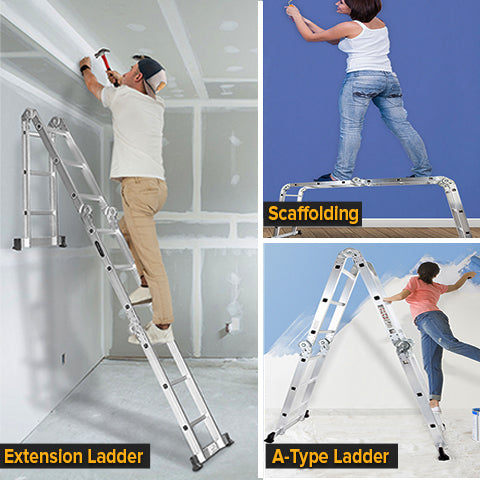 Different uses and application of multipurpose ladder