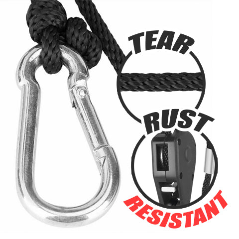 Tear and rust resistant