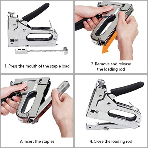 How to use 3-in-1 Staple Gun with Remover