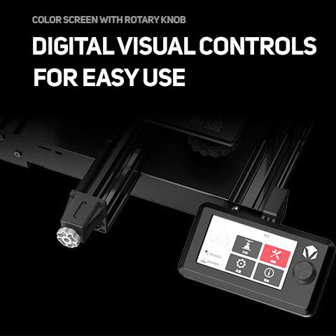 Digital visual controls for easy use