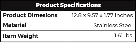 3D Printer Tool Kit Specifications