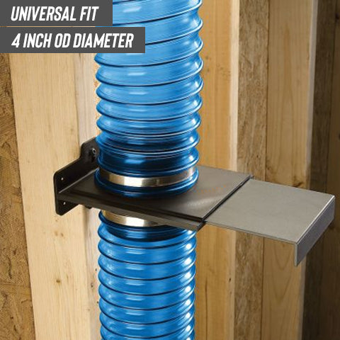 Universal Fit of 4-Inch Blast Gate for Dust Collector/Vacuum Fittings