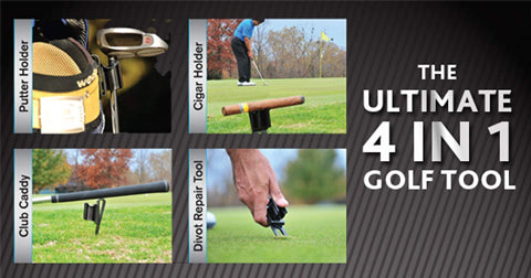 4-in-1 Golf Accessory Tool