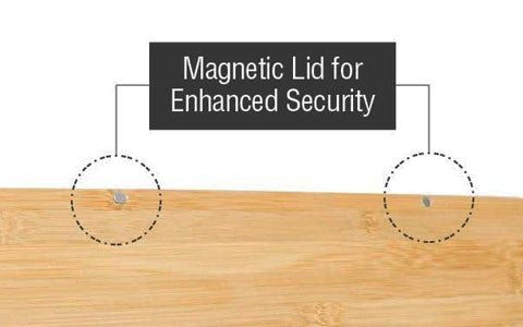 Magnetic Lid for Enhanced Security