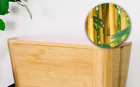 Made of 100% sustainable bamboo material