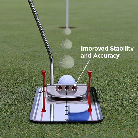 Improved Stability and Accuracy with Golf Putting Alignment Mirror
