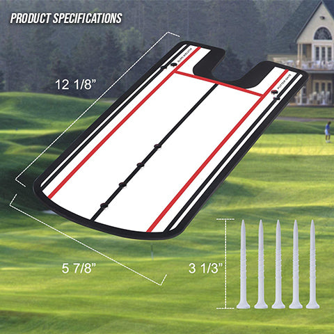 Specifications of Golf Putting Alignment Mirror