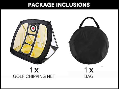 Golf Chipping Net Package Inclusions