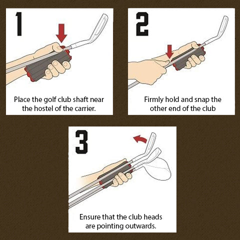 How to Use Golf Club Carrier
