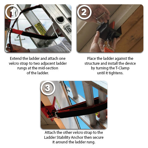 Ladder Stability Anchor Instructions