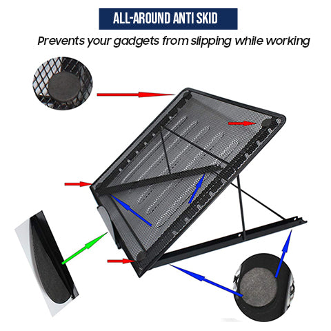 Laptop and Tablet Stand Anti-Skid