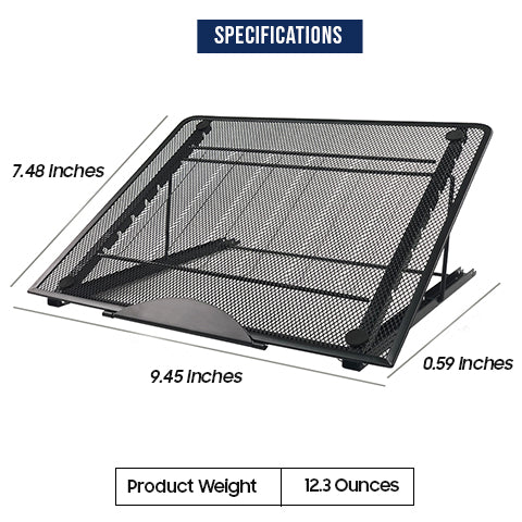 Specifications of Laptop and Tablet Stand