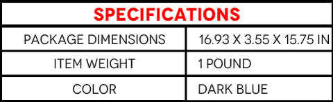 Specifications of Lumbar Support Pillow