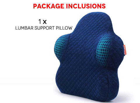 Package Inclusions of Lumbar Support Pillow