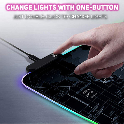 How to change lights for RGB Gaming Mouse Pad