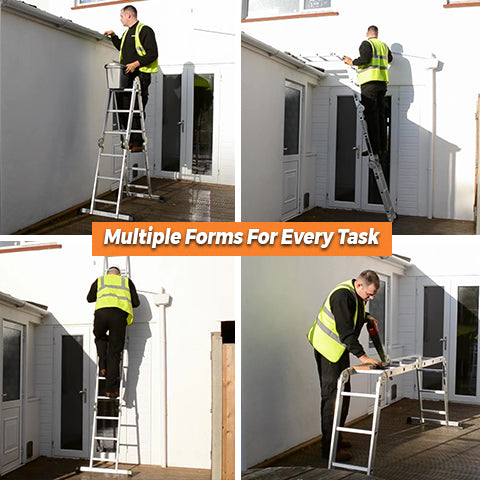 Different forms of Multipurpose Ladder