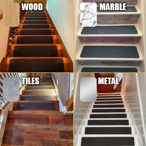 Can be installed in any stair surface