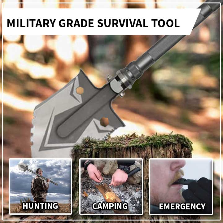 16-in-1 Camping Shovel Tool