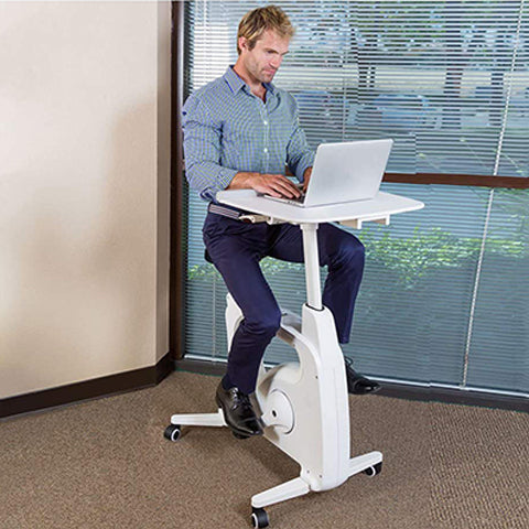 Adjustable Exercise Bike Desk