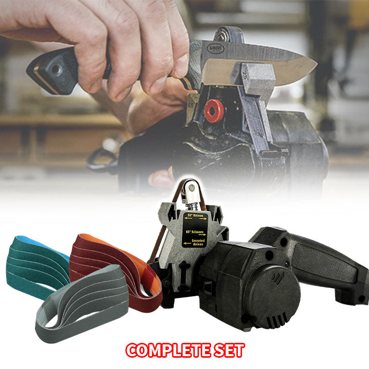 Compact Tool Sander Belt Machine