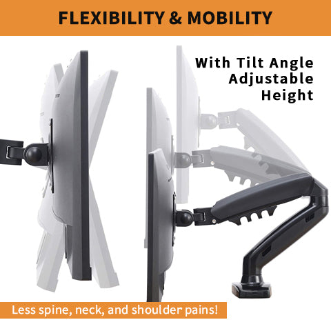 Desk Monitor Swivel Mount