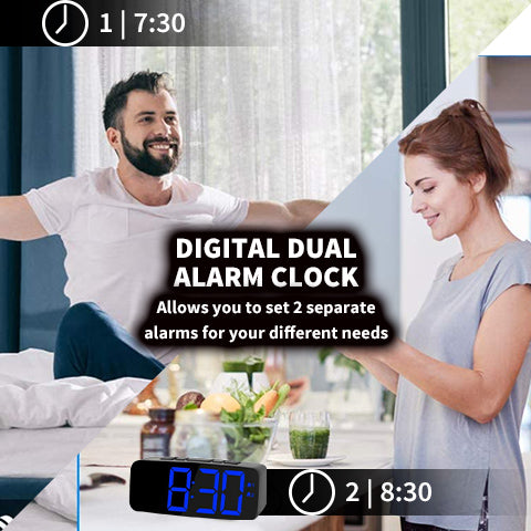 Dimmable Alarm Clock