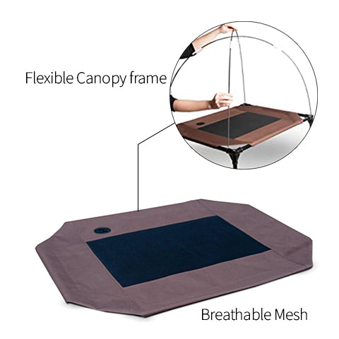 Outdoor Pet Cot Canopy