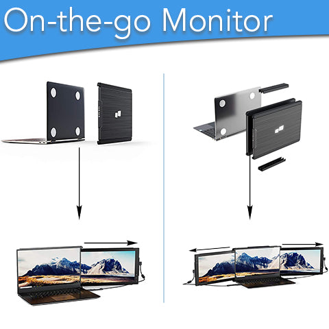 On-the-Go Dual Laptop Monitor | 𝗚𝗘𝗧 𝗨𝗣 𝗧𝗢 𝟏𝟎% 𝗢𝗙𝗙 𝗡𝗢𝗪 💸