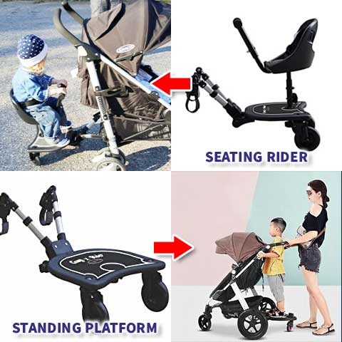 Universal Ride-on Stroller Board