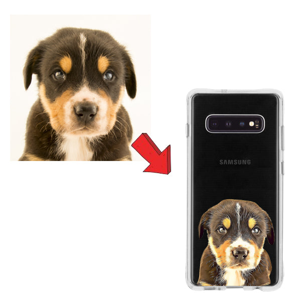 Custom Case for Samsung: Cartoonify Your Pet