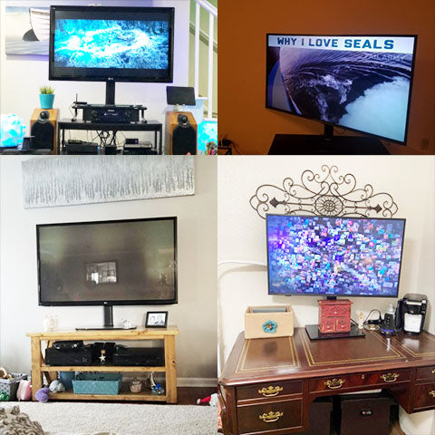 Full Motion Universal TV Mount