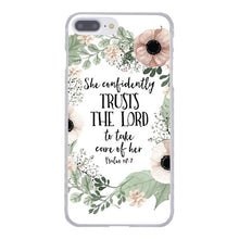 "Load image into Gallery viewer, ""Words Of Faith"" iPhone Case"
