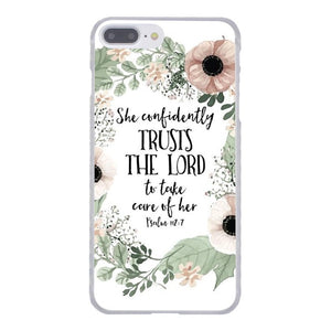 """Words Of Faith"" iPhone Case"