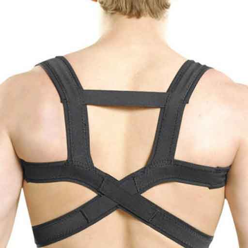 Elastic Posture Corrector with Breathable Straps Clavicle & Men Women