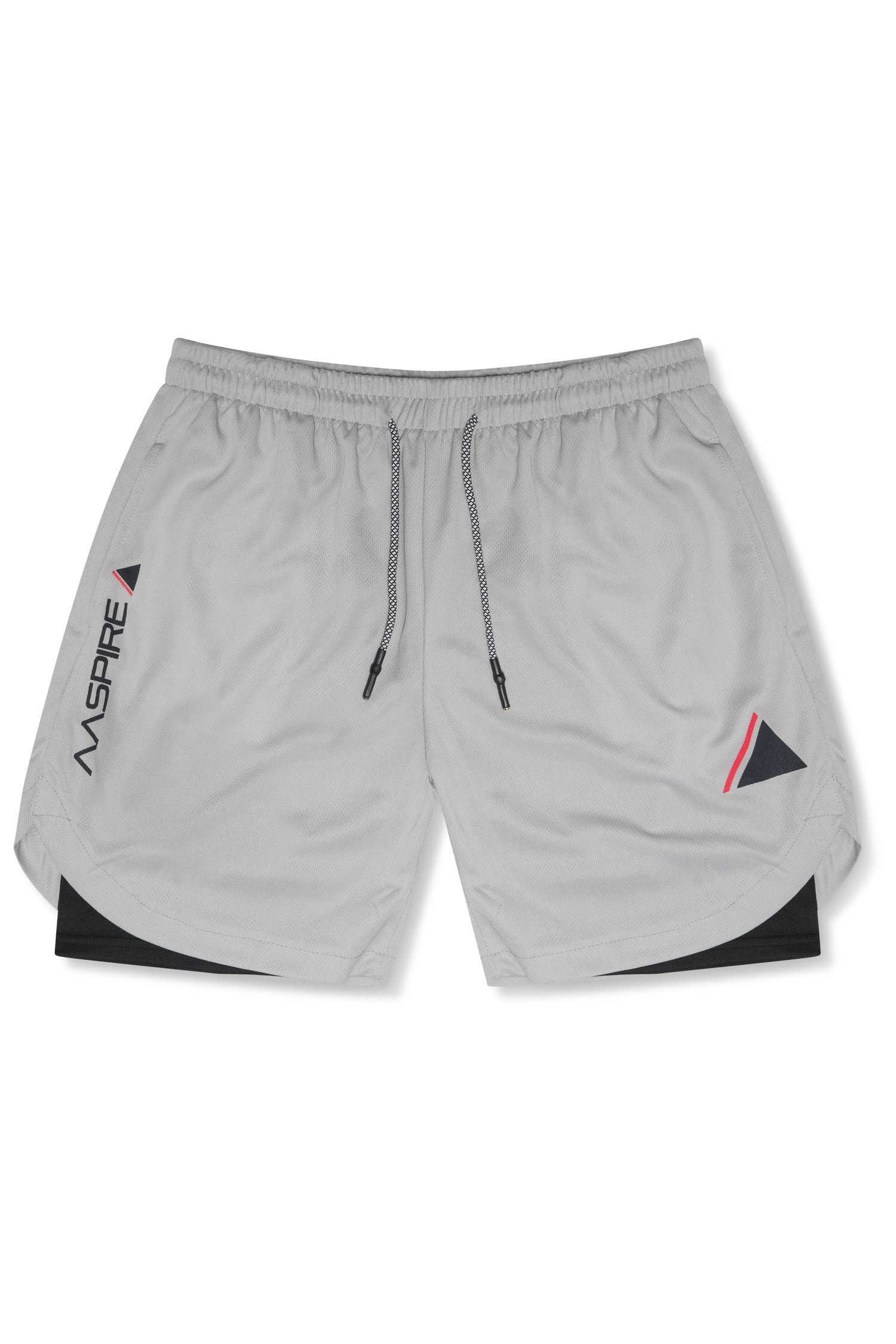 AASPIRE FLEX FIT SHORTS (GREY)